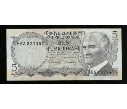 D&K- 6.EMİSYON 5 LİRA SERİSİ K66 437291 ÇİL.