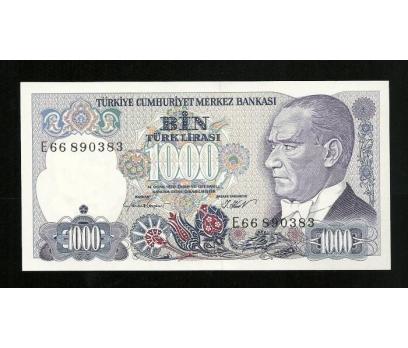 D&K-7. EMİSYON 1000 LİRA SERİ E66 890383 ÇİL