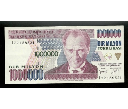 D&K-7.EMİSYON 1.000.000 LİRA I72 158521 Ç.ALTI