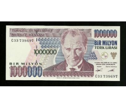 D&K-7.EMİSYON 1.000.000 LİRA SERİ C33 738697 ÇİL