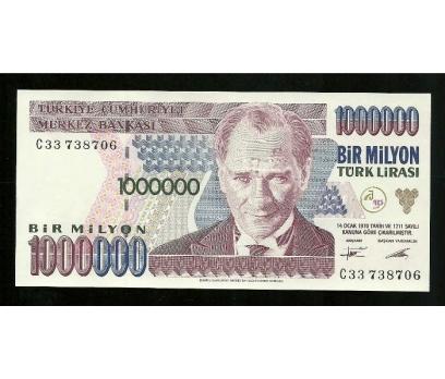 D&K-7.EMİSYON 1.000.000 LİRA SERİ C33 738706 ÇİL