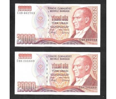 D&K- 7.EMİSYON 1.TERTİP 20.000 LİRA C SERİSİ