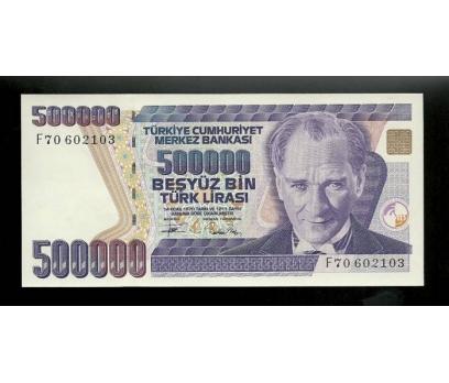 D&K-7.EMİSYON 500.000 LİRA SERİ F70 602103 ÇİL