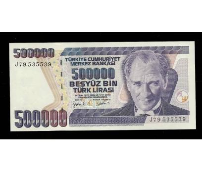 D&K-7.EMİSYON 500.000 LİRA SERİ J79 535539 ÇİL