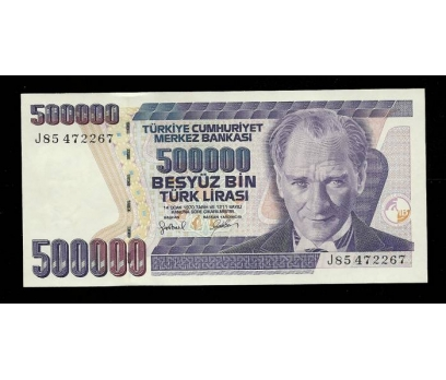 D&K-7.EMİSYON 500.000 LİRA SERİ J85 472267 ÇİL