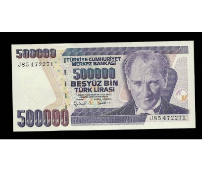 D&K-7.EMİSYON 500.000 LİRA SERİ J85 472271 ÇİL