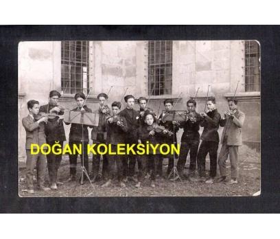 D&K- ESKİ DÖNEM KEMAN ÖĞRENCİLERİ KARTPOSTAL