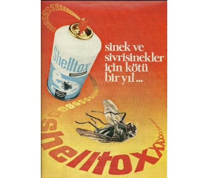 D&K-ESKİ SHELLTOX SİVRİSİNEK SPREY REKLAMI.