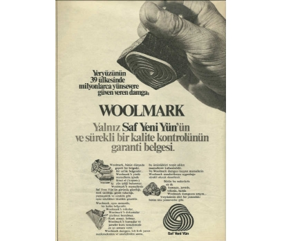 D&K-ESKİ WOOLMARK REKLAMI
