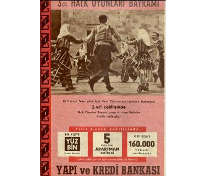 D&K-ESKİ YAPI VE KREDİ BANKASI REKLAMI.
