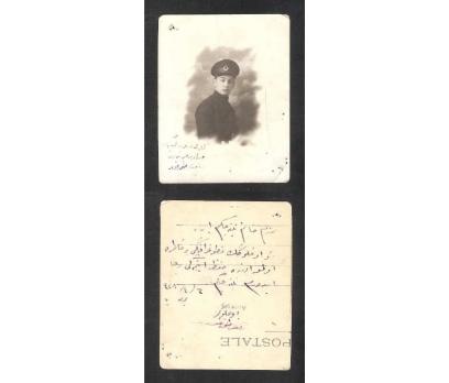 D&K- GENÇ BİR SUBAY ARKASI YAZILI VE İMZALI 1928