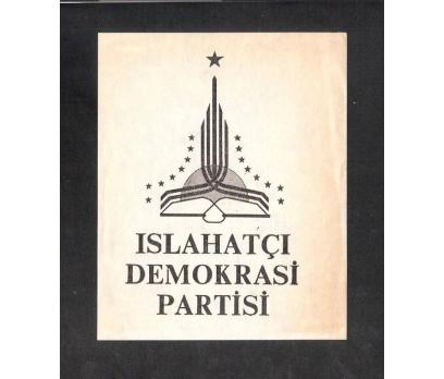 D&K- ISLAHATÇI DEMOKRASİ PARTİSİ BROŞÜR