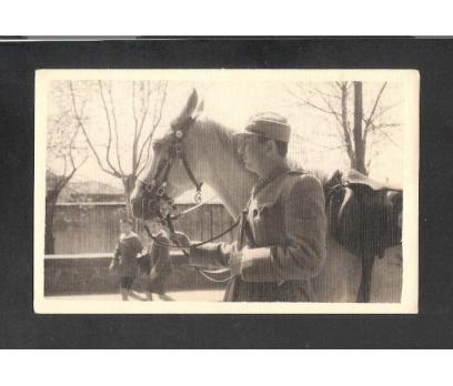 D&K- İZMİT ATLI SÜVARİ ASKERİ 1944 YILI FOTOĞRAF