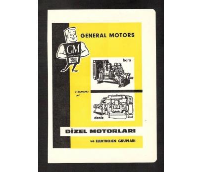D&K-REKLAM-GENERAL MOTORS-DİZEL MOTORLARI 1