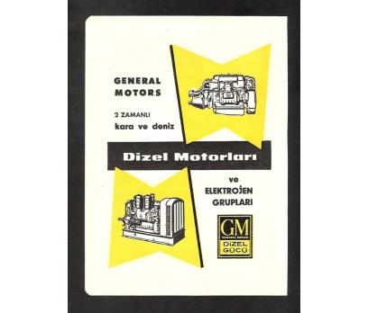 D&K-REKLAM-GENERAL MOTORS-DİZEL MOTORLARI