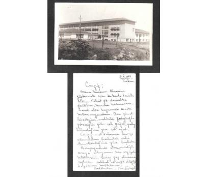 D&K- TRABZON BİR OKUL BİNASI 1949 YILI FOTOĞRAF