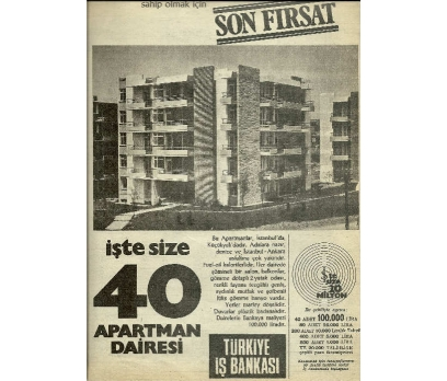 D&K-TÜRKİYE İŞ BANKASI REKLAMI.