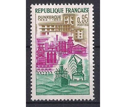 1962 Fransa Dunkerque Damgasız**