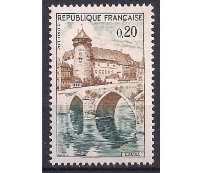 1962 Fransa Laval Damgasız**