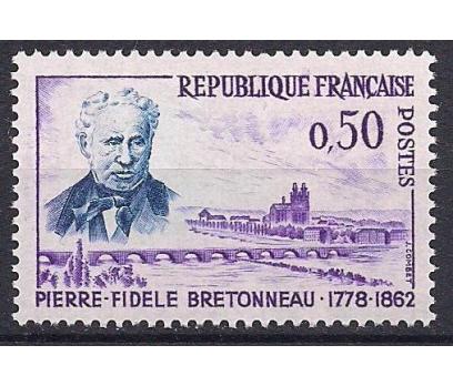 1962 Fransa P.f. Bretonneau Damgasız**