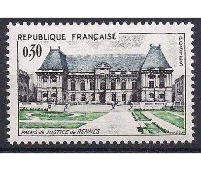 1962 Fransa Rennes Justice Sarayı Damgasız**