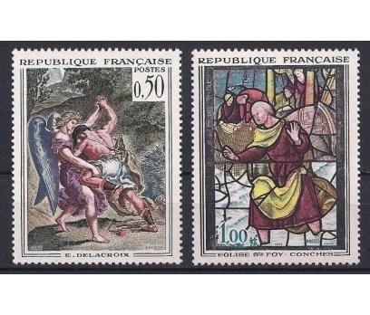1963 Fransa Sanat Damgasız**