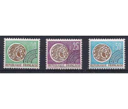 1964 Fransa Celtic Paraları Damgasız**