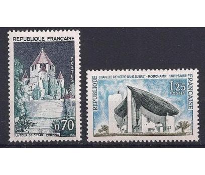 1964 Fransa Turizm Damgasız**