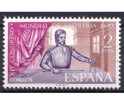 1970 İspanya Tailor Kongresi Damgasız **