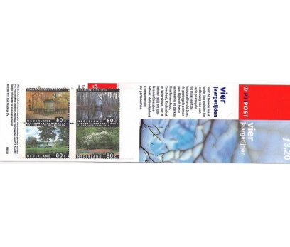 1999 Hollanda Pb53D Kış Karne (Booklet)