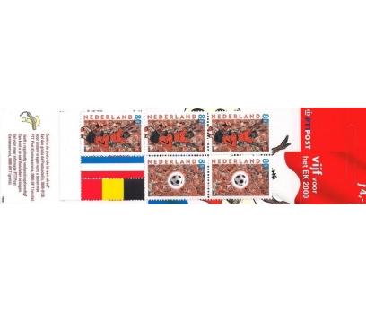 2000 Hollanda Pb60 Futbol Karne (Booklet)