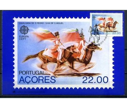 AZOR ADALARI KM 1981 EUROPA CEPT SÜPER (İF-1013)