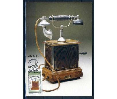 BOPHUTHATSWANA KM 1984 TELEFON 4 K SÜPER(İF-1013) 5