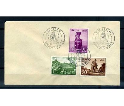 CUMH.FDC 1956 TRUVA TURİSTİK SÜPER (YT-1213)