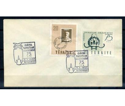 CUMH.FDC 1957 GÜZEL SANATLAR SÜPER (YT-1213)