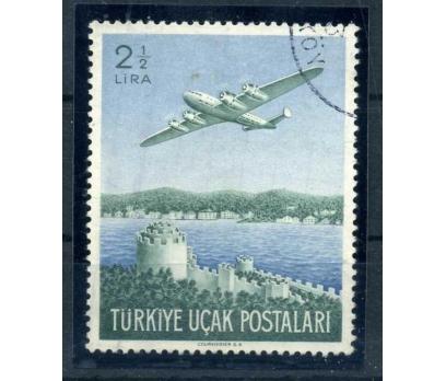 CUMHURİYET  DAMGALI 1950 BÜYÜK UÇAK (TE-1213)
