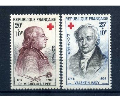 FRANSA ** 1959 CROIX DE ROUGE SÜPER (1013)