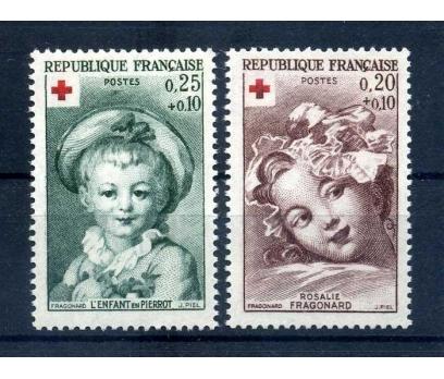 FRANSA ** 1962 CROIX DE ROUGE SÜPER (1013)