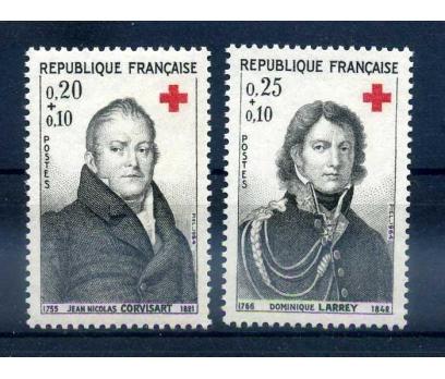 FRANSA ** 1964 CROIX DE ROUGE SÜPER (1013)