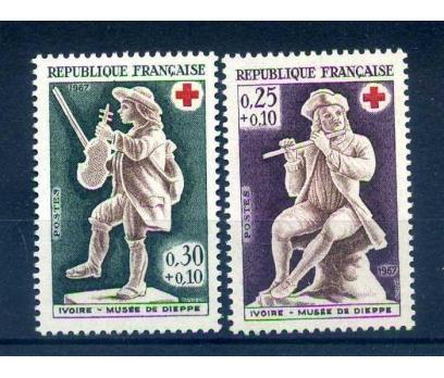 FRANSA ** 1967 CROIX DE ROUGE SÜPER (1013)
