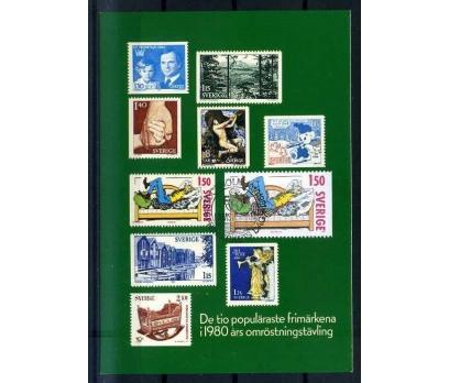 İSVEÇ KART MAKS. 1980 PUL SERGİSİ SÜPER (İF-1013)