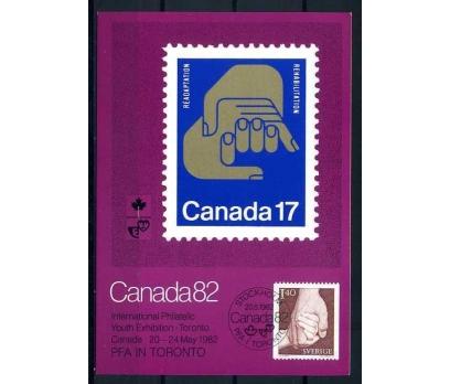 KANADA KM 1982 KANADA 82 PUL SERGİ SÜPER (İF-1013)