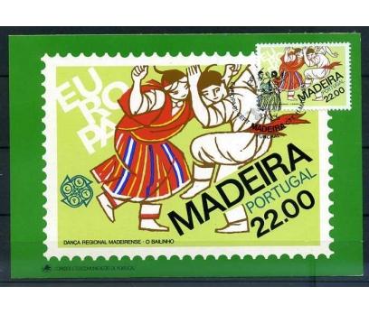 MADEİRA ADALARI KM 1981 EUROPA CEPT SÜPER(İF-1013)