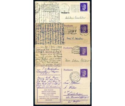 REİCH 1941 HİTLER BASKILI 4 ANTİYE PG  (İF-1013)