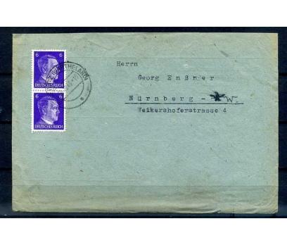 REİCH 1943 HİTLER PULLU PG 2 ZARF (İF-1013) 2