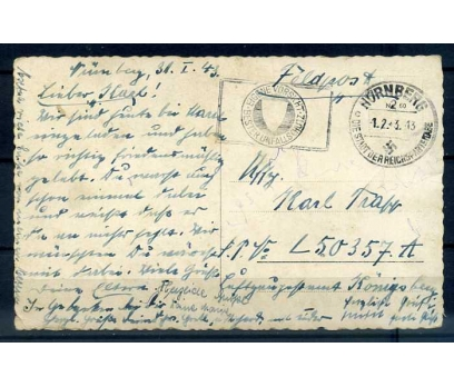 REİCH 1943  NAZİ DAMGALI PG KP (İF-1013)