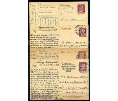 REİCH 1944 HİTLER BASKILI 4 ANTİYE PG  (İF-1013)