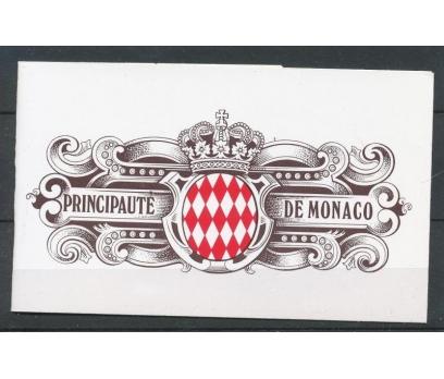 1992 Monako Eski Monaco Şehri Booklet Damgasız**