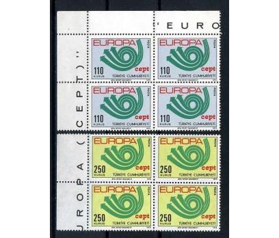 CUMHURİYET ** DBL1973 EUROPA CEPT SÜPER