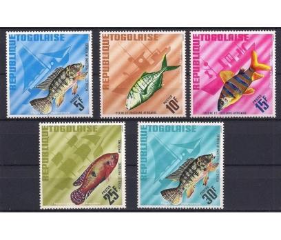 1967 Togo Balıklar Damgasız**